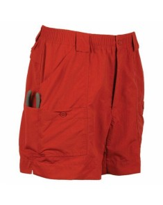 AFTCO M01L Fishing Short - Red