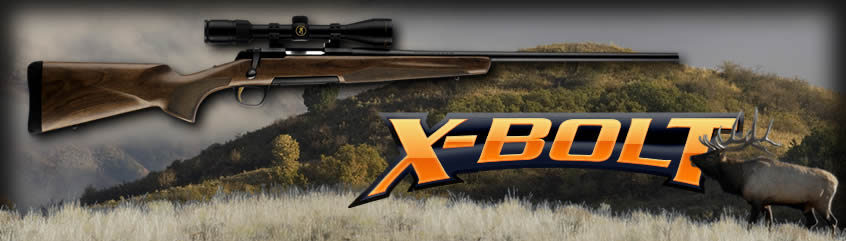 Browning XBolt Hunter Rifles